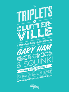 Clutter Gallery- tirplets