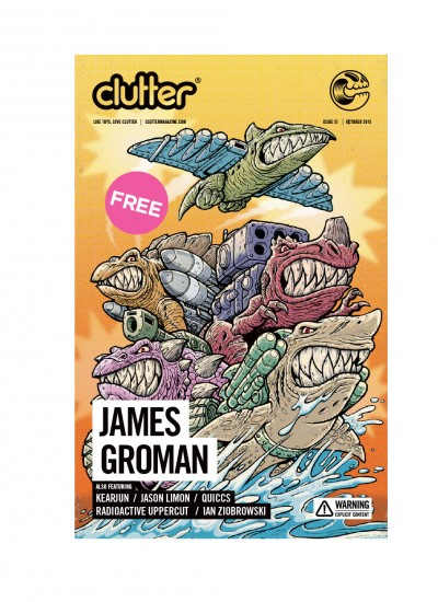 Clutter Magazine Issue 31: October 2015 James Groman