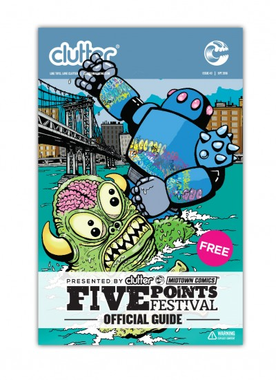 Clutter Magazine Issue 43 - Five Points Fest