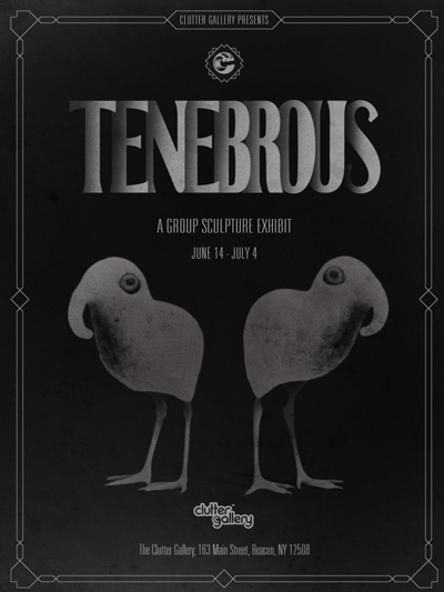 Tenbrous at Clutter Gallery